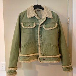 Vintage 90s Volcom Sage Denim Trucker Jacket